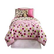 Furry Friends Twin Furry Friends Monkey Dots Microfiber Comforter Set at Kmart.com