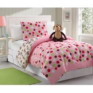 Furry Friends Twin Furry Friends Monkey Dots Microfiber Comforter Set at Sears.com