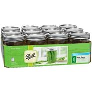 Ball Set of 12 Wide-Mouth Canning Jars with Lids and Bands at Kmart.com