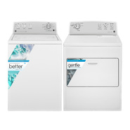 Kenmore 3.6 cu. ft. Top-Load Washer and 7.0 cu. ft. Dryer - White Bundle at Sears.com