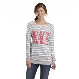 Joe by Joe Boxer Women's Tunic Sweatshirt - Striped at Sears.com