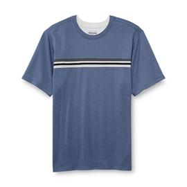 Basic Editions Men's Layered-Look T-Shirt - Stripe at Kmart.com
