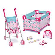 Jakks Pacific Doll Play Set - Pink & Blue (color may vary) at Kmart.com