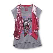Monster High Girl's Layered Shirt & Vest at Kmart.com