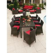 Grand Resort Osborn 9 Piece Rectangle Dining Set Featuring Sunbrella&reg Fabric at Kmart.com