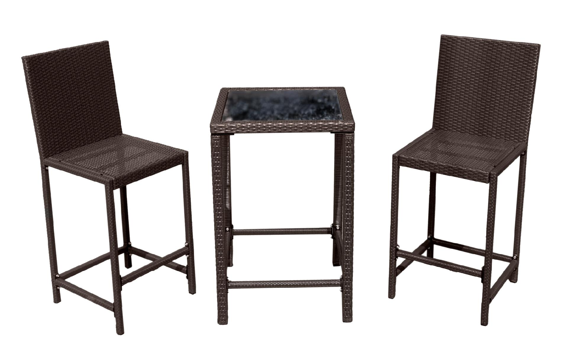 Hiland  Santa Ana 3-piece Wicker Patio