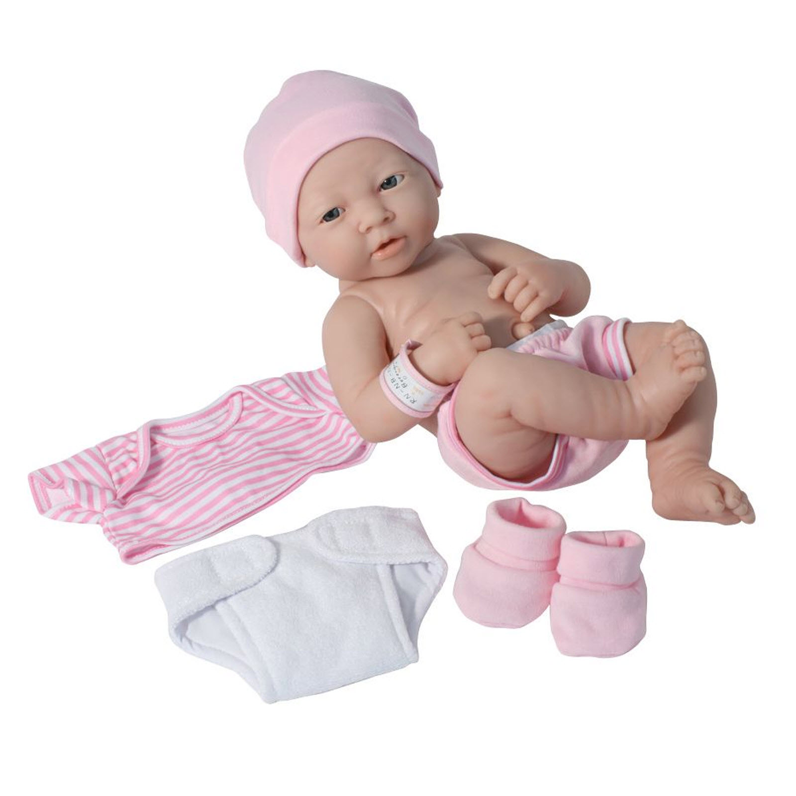 JC Toys 14'' La Newborn Doll Gift Set