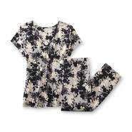 Covington Women's Pajama Shirt & Pants - Floral at Sears.com
