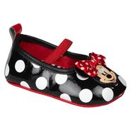 Disney Baby Girl's Casual Minnie Ballet - Black/White/Red at Kmart.com
