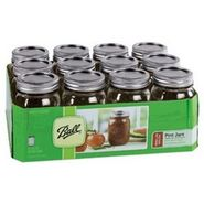 Ball 12 Canning Jars with Lids and Bands at Kmart.com