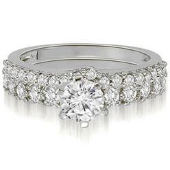 AMCOR 1.90 cttw Round Cut 14k White Gold Diamond Engagement Set at Kmart.com