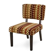 Jaclyn Smith Multicolor Circles Accent Chair at Kmart.com