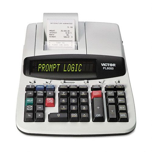PL8000 14-Digit Printing Calculator
