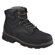 Texas Steer Men's Maximus Black PU Steel Toe Work Boot at Kmart.com