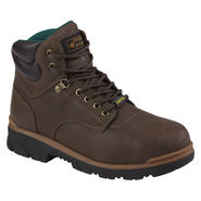Texas Steer Men's Maximus Brown Steel Toe Work Boot at Kmart.com