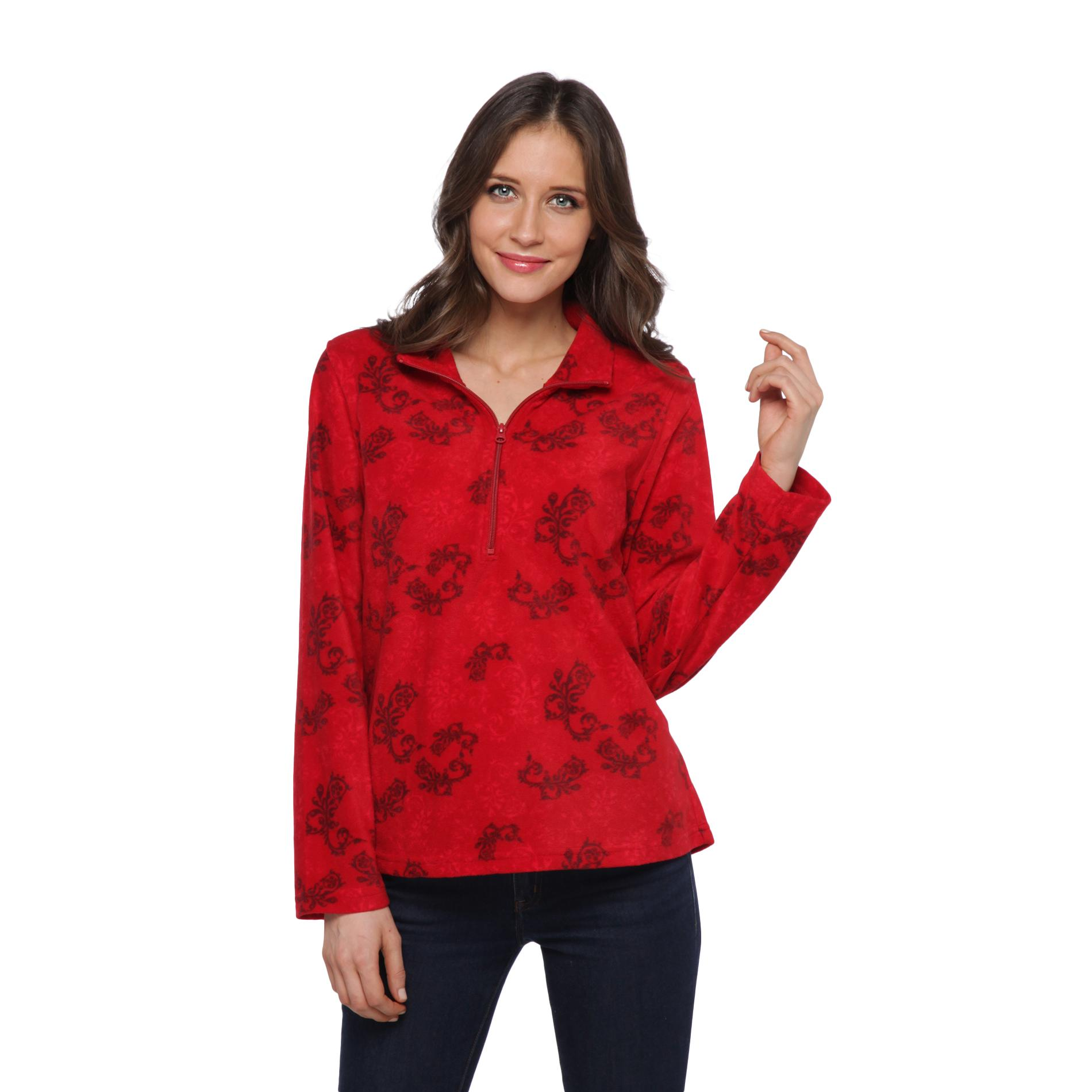 Laura Scott Women's Fleece Jacket - Filigree at Sears.com