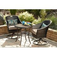 Garden Oasis Hayes Woven 3 Piece Bistro Set at Sears.com