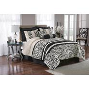 The Great Find 8-Piece Zebra Print Bedding Set at Kmart.com