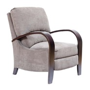 Madison Classics Archdale Arm Recliner in Charcoal at Sears.com