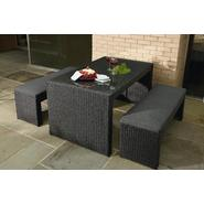 La-Z-Boy Outdoor Derik 3pc Bench Dining Set at Kmart.com