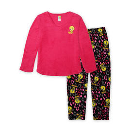 Warner Brothers Women's Pajama Top & Pants - Tweety at Kmart.com
