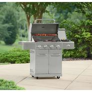 Kenmore 4 Burner All Stainless Steel Gas Grill with searing side burner at Kmart.com