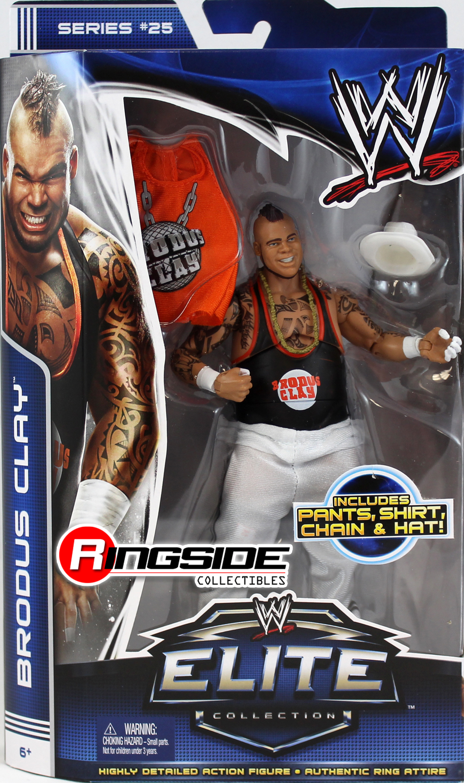 WWE  Brodus Clay - WWE Elite 25 Toy