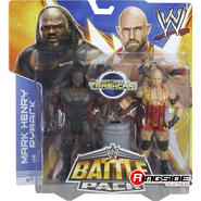 WWE Ryback & Mark Henry (WrestleMania 29) - WWE Battle Packs 25 Toy Wrestling Action Figures at Kmart.com