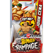 WWE John Cena (Green - Jump) - WWE Rumblers Rampage Toy Wrestling Action Figure at Kmart.com