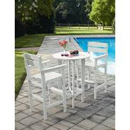 Garden Oasis Faux Wood 3 Piece Bar Set White at Kmart.com
