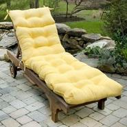 Greendale Home Fashions 72 in. Outdoor Chaise Lounger Cushion, Sunbeam at Kmart.com