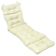 Greendale Home Fashions 72 in. Outdoor Chaise Lounger Cushion, Tan at Kmart.com
