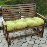 Greendale Home Fashions 46 in. Outdoor Swing/Bench Cushion, Kiwi at Sears.com
