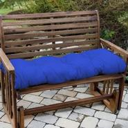 Greendale Home Fashions 46 in. Outdoor Swing/Bench Cushion, Marine Blue at Sears.com