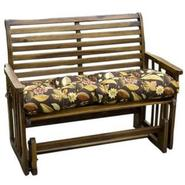 Greendale Home Fashions 46 inch Outdoor Swing/Bench Cushion, Sykworks Russett at Kmart.com