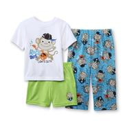 Joe Boxer Infant & Toddler Boy's Pajama Top, Shorts & Pants - Monkey Print at Kmart.com