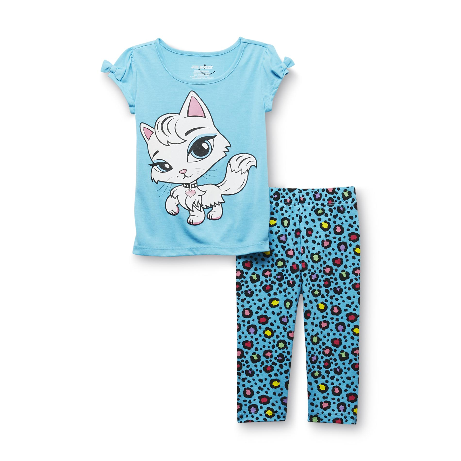 Infant & Toddler Girl's Pajama Top & Leggings