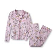 Laura Scott Women's Pajama Shirt & Pants - Floral & Bird at Sears.com