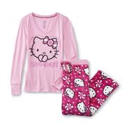 Hello Kitty Junior's Pajama Shirt & Plush Pants at Sears.com