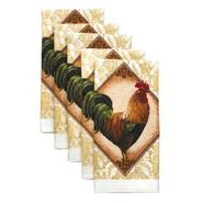 Essential Home Rooster Tapestry 5 Pack Kitchen Towel at Kmart.com