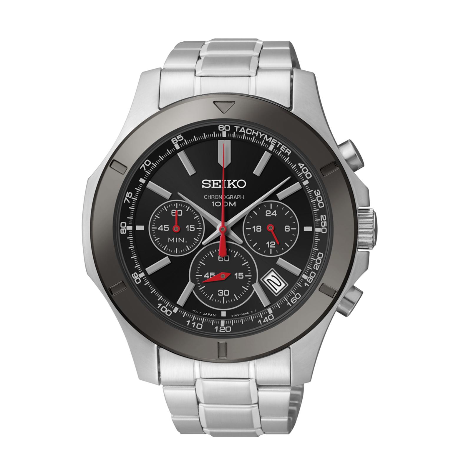 Seiko Men's Stainless Steel Chronograph Watch
