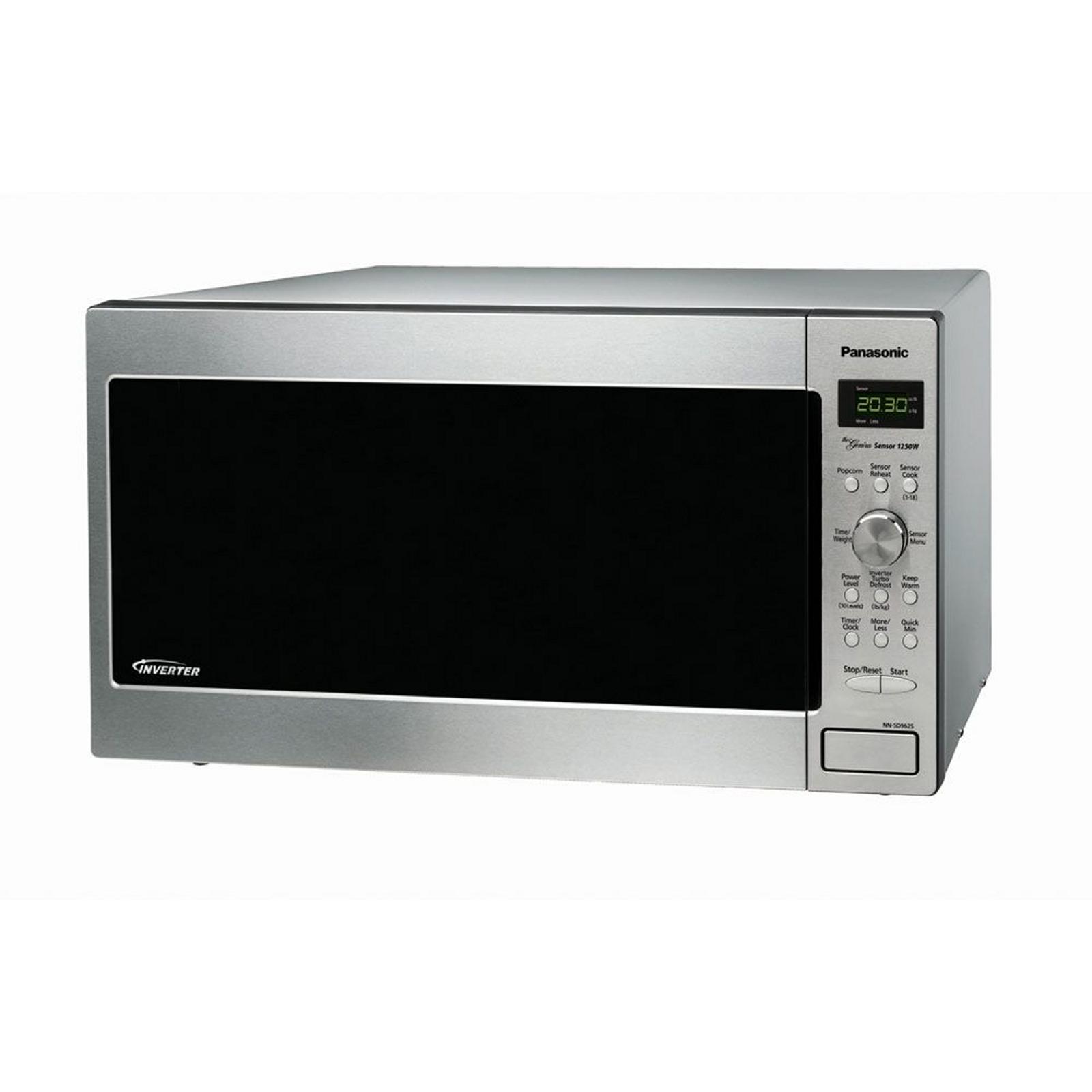 Panasonic Nn Sd962s 1250w Genius Stainless Steel Microwave