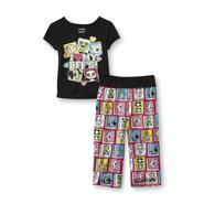 Joe Boxer Girl's Pajama Top & Pants - Animal BFFs at Kmart.com