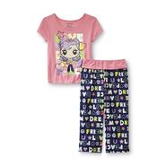 Joe Boxer Girl's Pajama Top & Pants - Love & Dream at Kmart.com