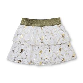 Ever After High Girl's Scooter Skirt - Metallic Hearts at Kmart.com