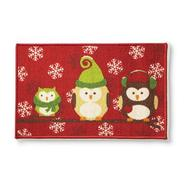 Essential Home Winter Accent Rug - Owls at Kmart.com