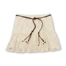 Route 66 Girl's Lace Scooter Skirt & Belt at Kmart.com