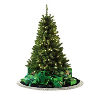 Color Switch Plus 4.5' 150 Dual Color LED Pre-Lit Aurora Pine Christmas Tree at Kmart.com