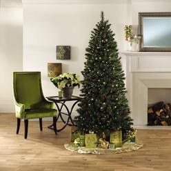 7' 500 Multi-Colored Light Stratford Slim Christmas Tree at Kmart.com