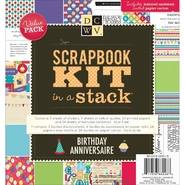 "Scrapbook Kit In A Stack 8""X8"" Birthday at Kmart.com"